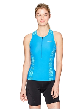 ZOOT - Camisole de triathlon - PERFORMANCE TRI TANK - Femme - Bleu - Medium