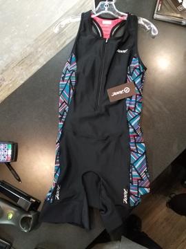 ZOOT - Combinaison de triathlon - W PERFORMANCE TRI RACESUIT - Femme - Noir - XLarge