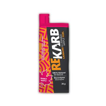 REKARB - Nutrition sportive énergétique - PURE ÉRABLE 100 % 80g.