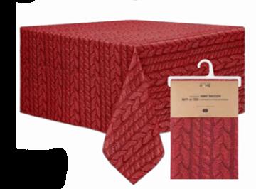 Image de Nappe rouge en tissus à impression photographique