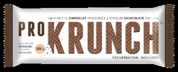 PRO KRUNCH - Nutrition sportive énergétique - GAUFRETTE CHOCOLAT PROTEINEE - Récupération - 50g.