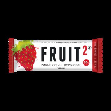 FRUIT 2 - Nutrition sportive énergétique - BARRE DE FRUIT 2 - Fraise