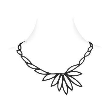 LADYGUM collier silicone Lotus