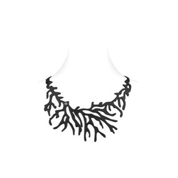 LADYGUM collier en silicone à motif