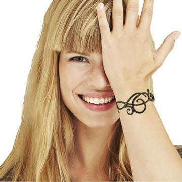 LDYGUM bracelet en silicone à motif