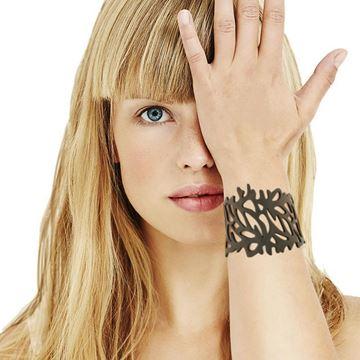 LADYGUM bracelet en silicone motif Corail