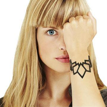 LADYGUM bracelet en silicone à motif Diamant