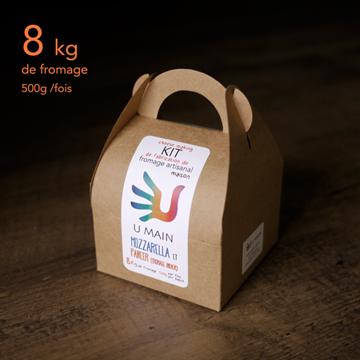 Kit de fabrication de fromage artisanal - Mozzarella et Paneer de U MAIN |
