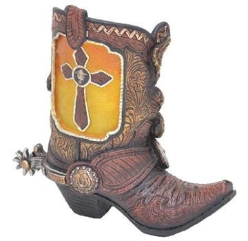 Cowboy porte-bougie