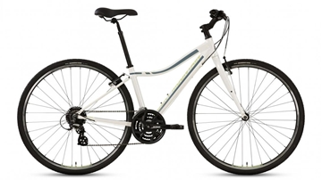 Rocky Mountain - Vélo hybride - RMB RC_10 LO COMFORT BIKE - BLANC - SMALL