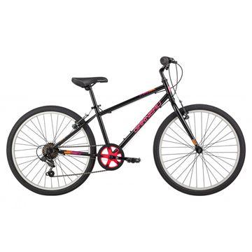 Garneau - Vélo junior - RAPIDO 242- NOIR-ROSE - 24 PO
