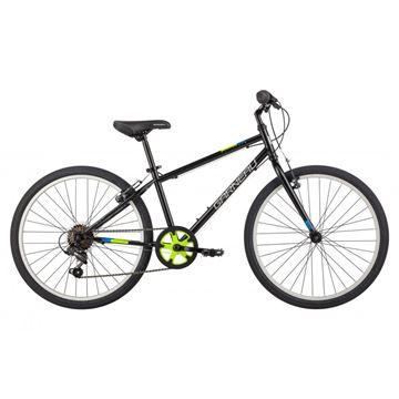 Garneau - Vélo junior - RAPIDO 242- NOIR-JAUNE - 24 PO