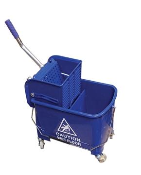Image de Combo essoreuse laterale 21 litres bleu