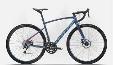 DEVINCI - Vélo gravel bike - HATCHET TIAGRA WS - Navy/Purple - Small