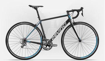 DEVINCI - Vélo de route - SILVERSTONE 1 - Noir/blanc/bleu - Small