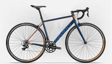 DEVINCI - Vélo de route - SILVERSTONE 2 - Bleu/Orange - Médium