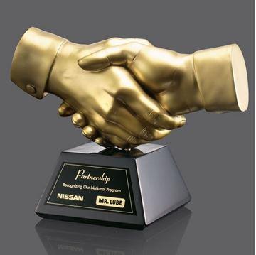 Image de Trophée - Autres - Poignée de main
