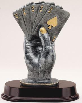 Image de Trophée - Autres - RF2771 - Carte en main
