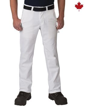 Image de Pantalon de peintre blanc / BIG BILL 3144