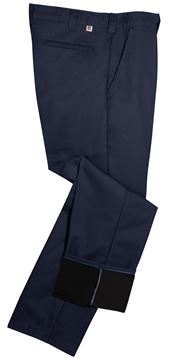 Image de Pantalon Doublée Micro-Fleece Marine ou Noir / BIG BILL 2147