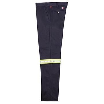 Image de Pantalon Résistant au feu avec Bandes réfléchissantes marine / BIG BILL 1435US9