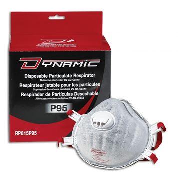 Image de Respirateur Jetable P95 avec Valve / DYNAMIC RP815P95