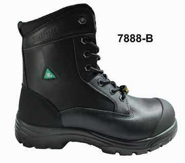 Botte Utra-Light Imperméable Noir Et Tan (TC-CP) / TIGER 7888