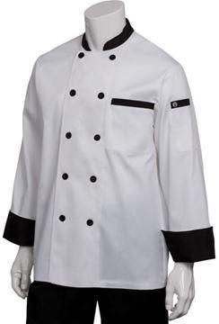 Image de Veste de cuisinier M/L 2 tons / CHEF WORKS BBTR