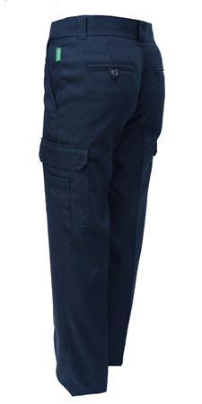 Image de Pantalon cargo polyester Marine ou Noir