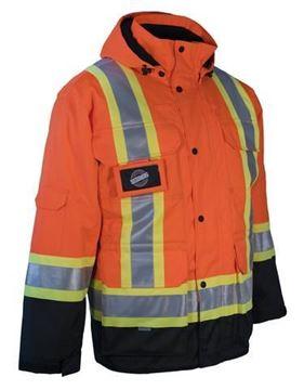 Image de Parka 4 dans 1 doublure standard Noir ou Orange - FORCFIELD 024-EN788