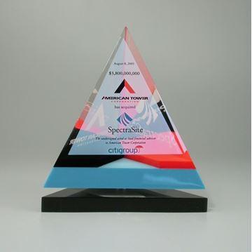 Pyramide d'Acrylique