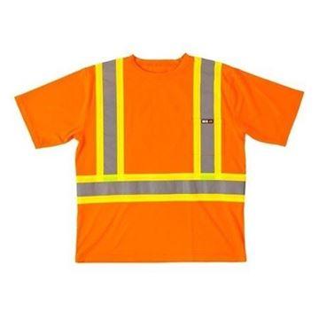 Image de T-shirt de sécurité manches courtes 25-400