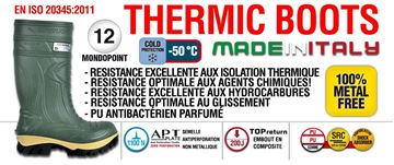 Image de Botte Cofra thermic -50°c vert