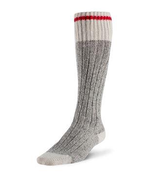 Image de bas de travail en laine Duray au-dessus mollet