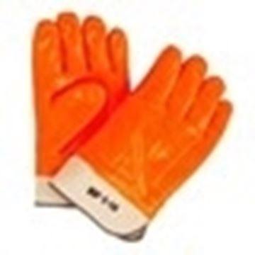 Image de gant PVC orange 10/4 JOB