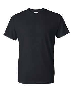 Image de t-shirt Gildan 8000 adulte noir