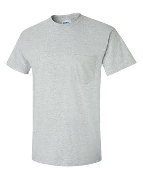 Image de t-shirt 2300 Gildan avec poche gris