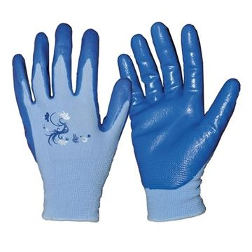 Image de gant jardinage PF070 bleu