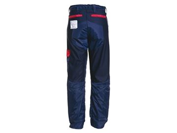 Image de pantalon scie à chaîne bleu Kingtreads taille extensible