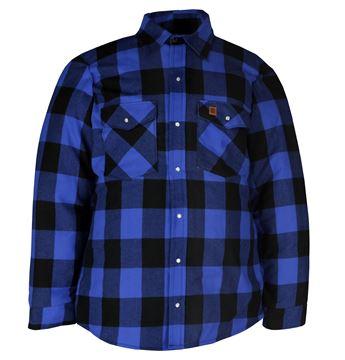 Image de chemise doublé en flannel Big Bill bleu 221Q