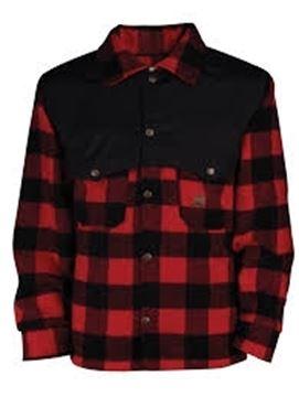 Image de chemise en laine à carreaux avec nylon aux épaules Big Bill 472