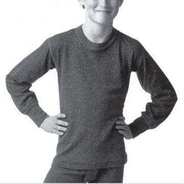Image de sous-vêtement enfant gilet «chill chasers» 2 épaisseurs Stainfield's marine garçon