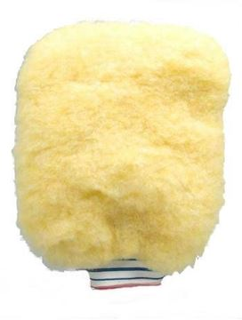 Image de Mitaine de lavage en mouton jaune Malco