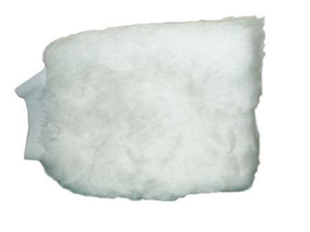 Image de Mitaine de lavage  blanche (DYNEL)