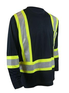 Image de T-shirt haute visibilité à manches longues