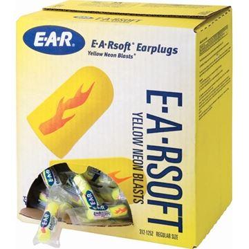 Image de 3M E-A-R Soft Bouchons d'oreilles 312-1252