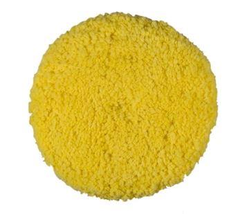 Image de Malco pad à polir en laine jaune 9'