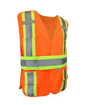 Image de Veste de sécurité avec bandes réfléchissantes