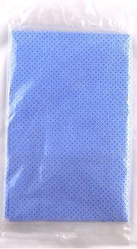 Image de Chamois bleu troué pour vitre