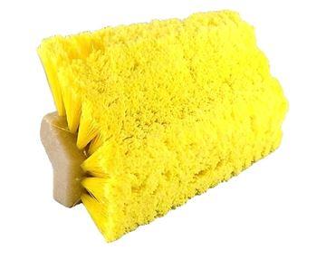 Image de Brosse à angle jaune pour auto et camion